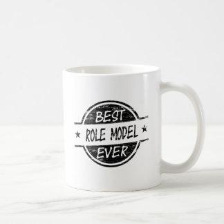 Best Role Model Ever Black Basic White Mug