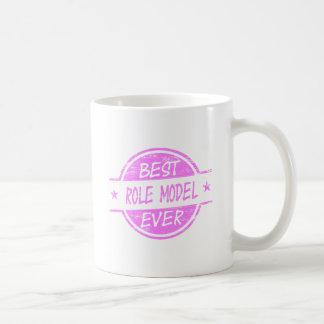 Best Role Model Ever Pink Basic White Mug