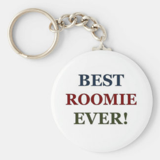 Best roomie ever basic round button key ring