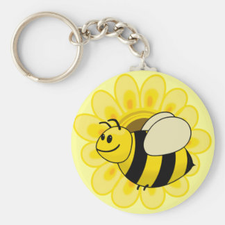 Betsy Bumble Bee Keychain