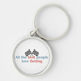 Betting Lover's Keychain