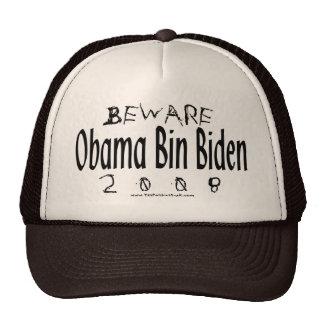 Beware Obama Bin Biden Cap