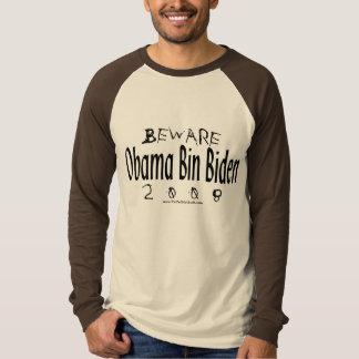 Beware Obama Bin Biden Shirt