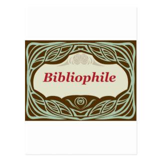 Bibliophile Postcard