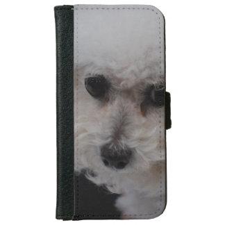 Bichon Frise Dog iPhone 6 Wallet Case