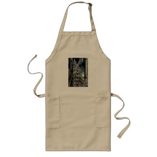 Bicycle Gears and Chain Closeup Long Apron