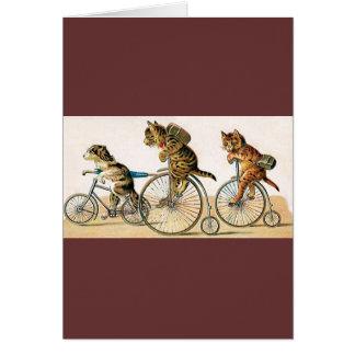 Bicycle Ride Greeting Card