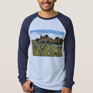 Bicycling on the Boardwalk, Atlantic City Vintage Tee Shirt