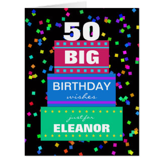 Big Birthday Greeting Cards Any Age