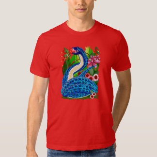 Big Blue Jungle Snake T-shirts