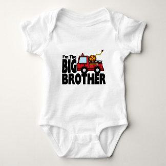 Big Brother Fire Truck T Shirt