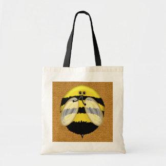 Big Bumble Bee Totes Budget Tote Bag