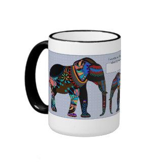 Big Elephant, Little Elephant Father's Day Mug