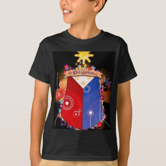 big filipino flag t shirt