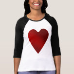 Big red heart   Valentines day T Shirt