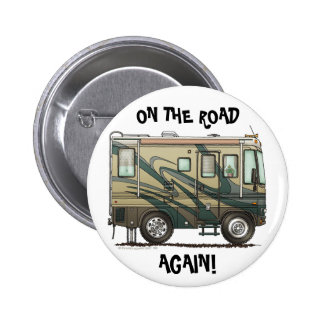 Big RV Camper On The Road Pins