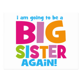 Big Sister Again Postcard