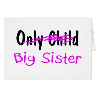 Big Sister Greeting Card