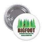 Bigfoot Sasquatch Hide and Seek World Champion 3 Cm Round Badge