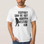 Bigfoot saw me (distressed) t-shirts
