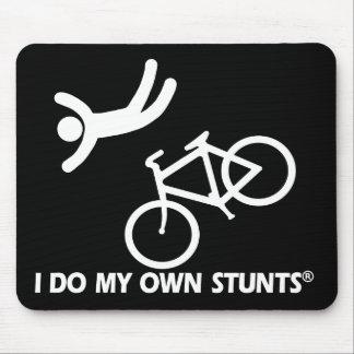 Bike My Own Stunts Mouse Pad