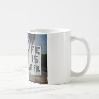 Billie Holiday Street Art Basic White Mug