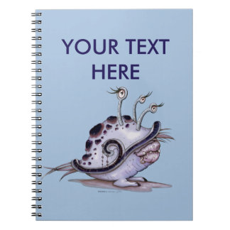 BIOLE CUTE ALIEN MONSTER NOTE BOOK