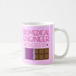 Biomedical Engineer Chocolate Gift for Woman Basic White Mug