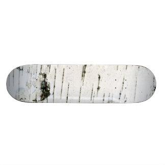 Birch bark 21.6 cm old school skateboard deck