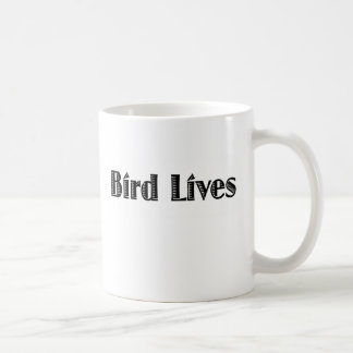 Bird Lives Basic White Mug