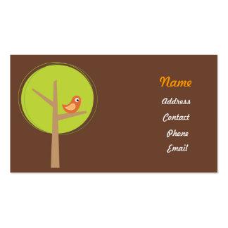 Birdie business card