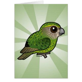 Birdorable Kakapo Greeting Card