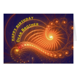 Birthday card for brother