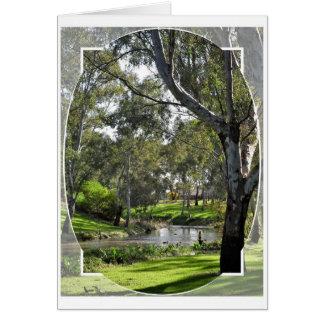 Birthday Card - River Torrens South Australia