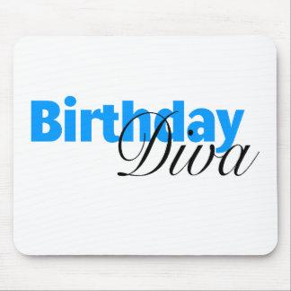 Birthday Diva Mouse Pad