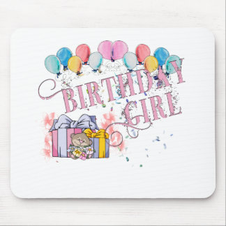 Birthday Girl Mouse Pad