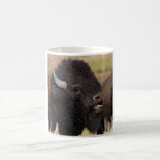 bison basic white mug