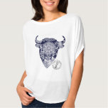 Bison for ladies from CantWearThis Tee Shirts