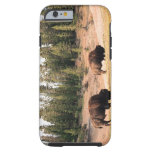 Bison in Yellowstone National Park , Wyoming Tough iPhone 6 Case