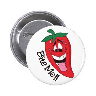 Bite Me! 6 Cm Round Badge