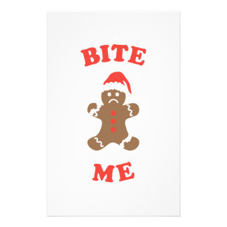 Bite Me Cookie Personalised Stationery