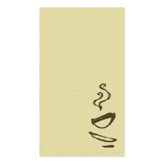 Biz Card - Coffee Pack Of Standard Business Cards