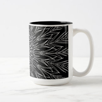 Black and White Abstract Mug