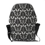 Black And White Pattern Messenger Bag