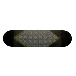 Black Diamond 18.1 Cm Old School Skateboard Deck