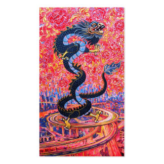 Black Dragon Little Calendar Card Pack Of Standard Business Cards