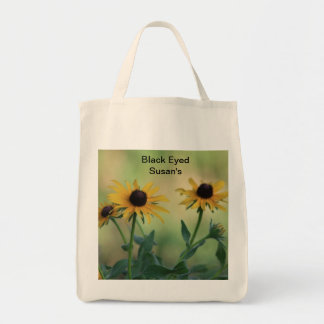 Black Eyed Susan Grocery Bag