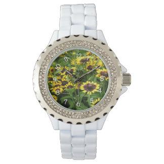 Black Eyed Susan Women's Floral Watch
