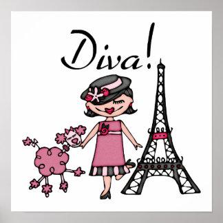 Black Hair Diva Poster
