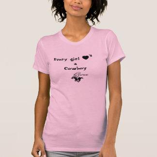black-heart, cowboy, Every girl, Cowboy, 's, a,... Shirts